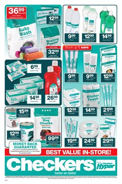 New offers in the Checkers catalogue in Cape Town