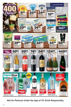 Novel offers in the Checkers catalogue in Cape Town