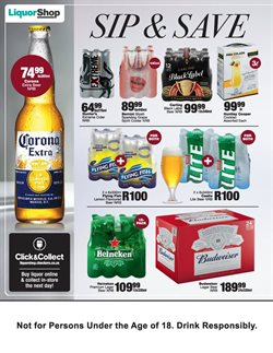 Sports offers in the Checkers catalogue in Cape Town