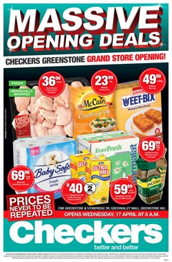 Checkers deals in the Sasolburg special