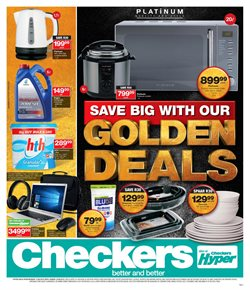 Checkers deals in the Mitchell's Plain special