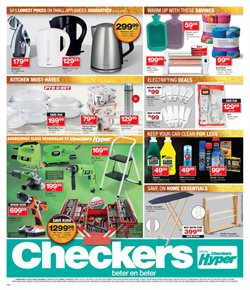 Camping offers in the Checkers catalogue in Cape Town
