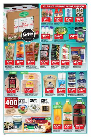 Shoprite   Specials & Catalogues - August 2019