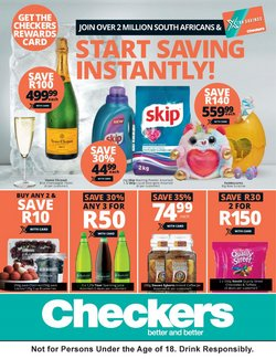 Checkers deals in the Edenvale special