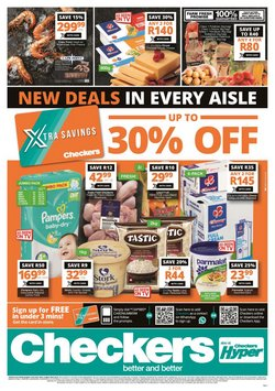 Groceries offers in the Checkers catalogue in Durban ( 2 days ago )