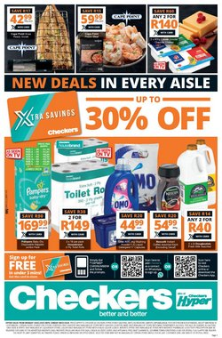 Groceries offers in the Checkers catalogue in Pretoria ( 1 day ago )