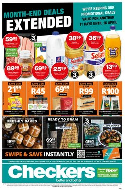 Groceries offers in the Checkers catalogue in Port Elizabeth ( 3 days ago )
