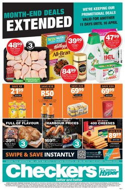 Groceries offers in the Checkers catalogue in Soweto ( 3 days ago )