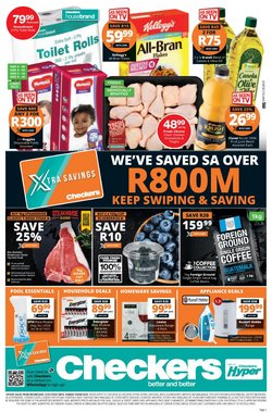 Russell Hobbs specials in Checkers