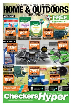 Groceries offers in the Checkers catalogue ( 3 days left )