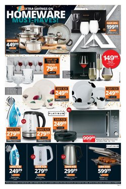 Coffee maker specials in Checkers