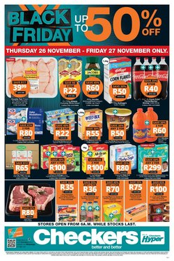 Crystal Valley specials in Checkers