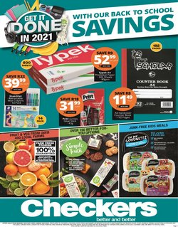 Checkers catalogue in Cape Town ( 1 day ago )