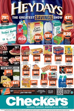 Groceries offers in the Checkers catalogue in Durban ( 4 days left )