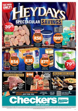 Checkers catalogue ( Expires today )