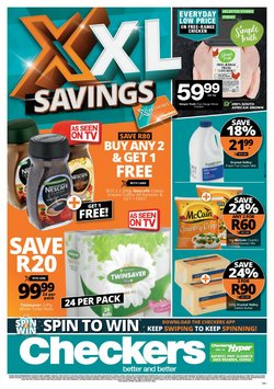Checkers offers in the Checkers catalogue ( Expires today)