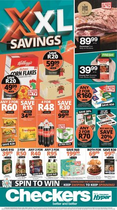 Groceries offers in the Checkers catalogue ( Expires tomorrow)