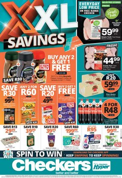 Groceries offers in the Checkers catalogue ( 1 day ago)