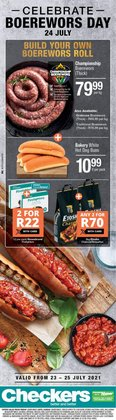 Groceries offers in the Checkers catalogue ( Expires today)