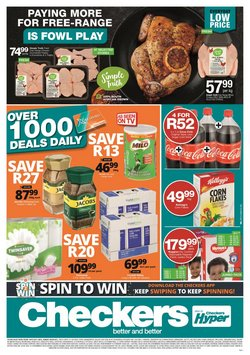 Checkers offers in the Checkers catalogue ( 1 day ago)