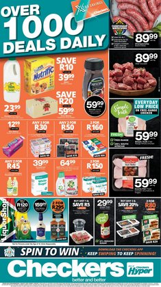 Checkers offers in the Checkers catalogue ( Expired)