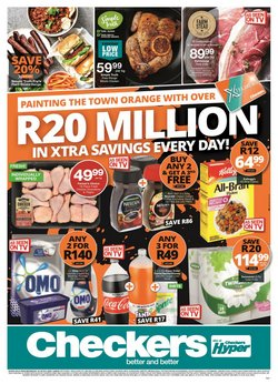 Groceries offers in the Checkers catalogue ( 16 days left)