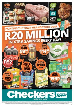Groceries offers in the Checkers catalogue ( 15 days left)