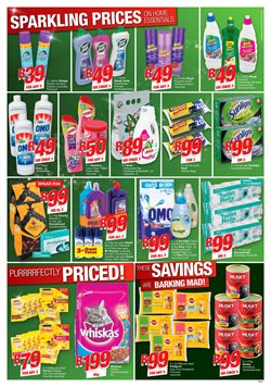 Fabric softener offers in the Checkers catalogue in Klerksdorp