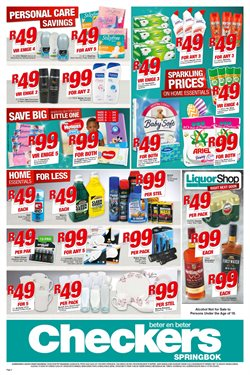Diapers offers in the Checkers catalogue in Cape Town