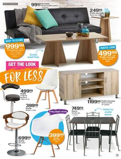 Living room offers in the Checkers catalogue in Cape Town