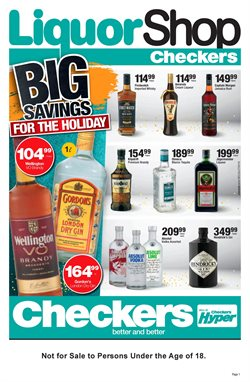 Groceries offers in the Checkers catalogue in Cape Town