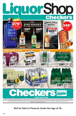 Table offers in the Checkers catalogue in Cape Town