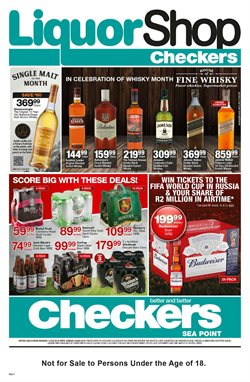 Baby offers in the Checkers catalogue in Cape Town