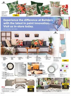 Canvas offers in the Builders Warehouse catalogue in Cape Town