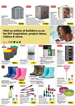 Windows offers in the Builders Warehouse catalogue in Cape Town