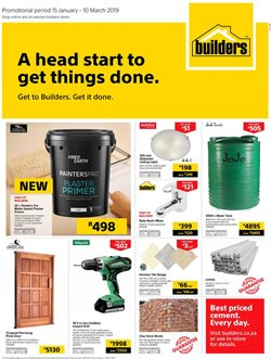 Tiles offers in the Builders Warehouse catalogue in Cape Town
