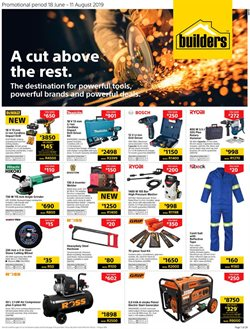Builders Warehouse deals in the Midrand special