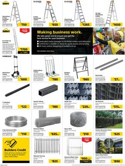 Tools specials in Builders Warehouse
