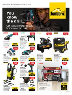 Builders Warehouse catalogue ( 16 days left)