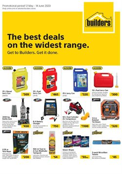 Builders Warehouse catalogue ( 2 days ago )