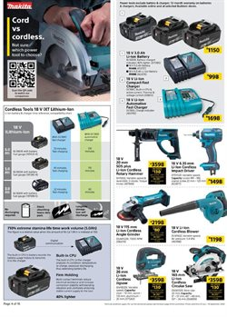 Batteries specials in Builders Warehouse