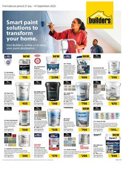 Builders Warehouse catalogue in Durban ( 1 day ago )