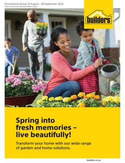 Builders Warehouse offers in the Builders Warehouse catalogue ( Expired)