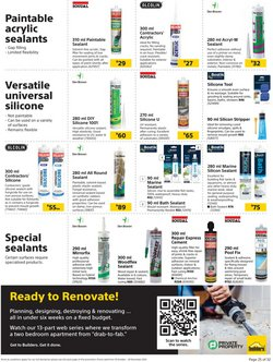 Gap offers in the Builders Warehouse catalogue ( More than a month)