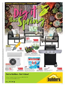 Air conditioner offers in the Builders Warehouse catalogue in Klerksdorp