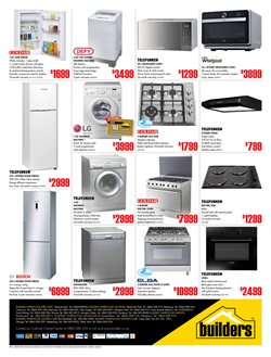Furniture offers in the Builders Warehouse catalogue in Cape Town