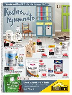 DIY & Garden offers in the Builders Warehouse catalogue in Klerksdorp