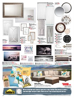 Living room offers in the Builders Warehouse catalogue in Cape Town