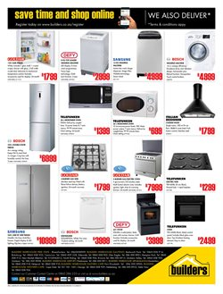 Washing machine offers in the Builders Warehouse catalogue in Cape Town