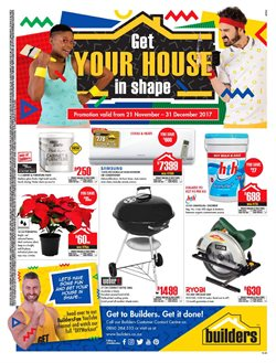 Builders Warehouse deals in the Umhlanga Rocks special